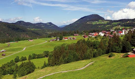 Unser Tipp: Sibratsgfäll - inmitten der schönen Bergwelt